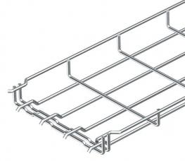 Mesh cable trays, plug connection
