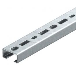 CML3518 profile rail, slot 17 mm, FS, perforated