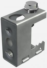 Screw-in beam clamp, universal