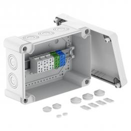 Junction box X 25 with main branch terminal