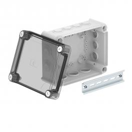 Junction box T160, with plug-in seal, transparent elevated cover
