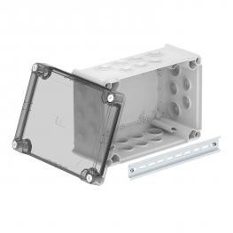 Junction box T350, with plug-in seal, transparent elevated cover