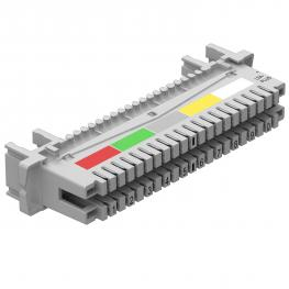 LSA-Plus technology / LSA connection strip
