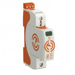 Surge arrestor V20, 1-pole with remote signalling, 280 V