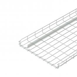 Mesh cable tray GR-Magic® 55 with barrier strip