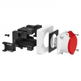 CEE socket unit, single, 16 A
