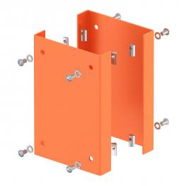 Collision guard for industrial pole