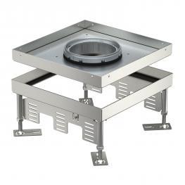 Height-adjustable cassette for tube body, RKFN, stainless steel