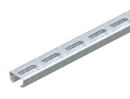 Anchor rail AML3518, slot width 16.5 mm, perforated