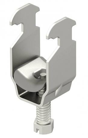 Clamp clip, single, A2 metal pressure trough