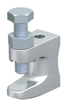 Screw-in beam clamp, with thread