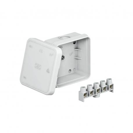 Junction box A 8 with terminal strip
