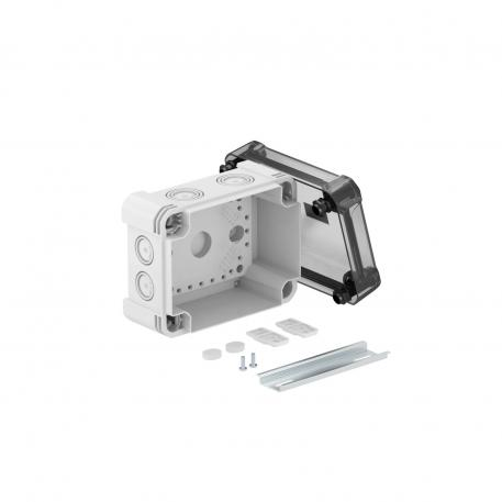 Junction box X 06 with hat profile rail