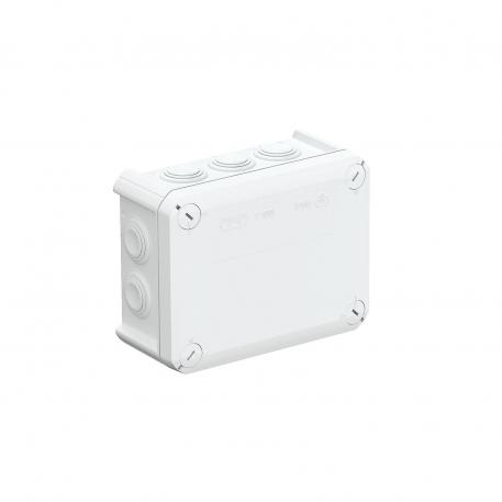 Junction box T 100, plug-in seal, flame-resistant