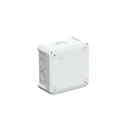 T 60 junction box, with knock-out entries