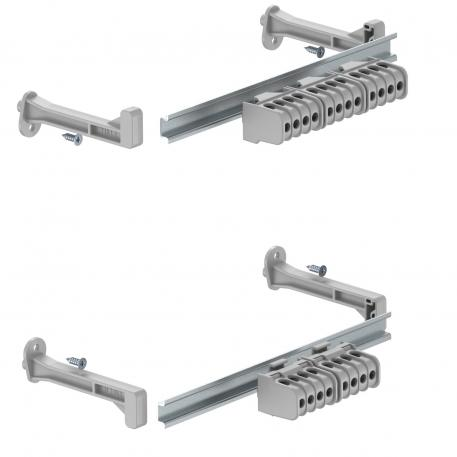 Terminal strip set for X series