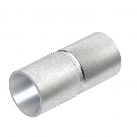 Hot-dip galvanised steel sleeve, without thread