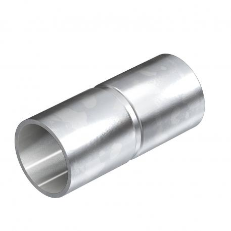 Electrogalvanised steel sleeve, without thread