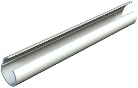 Quick pipe, light grey