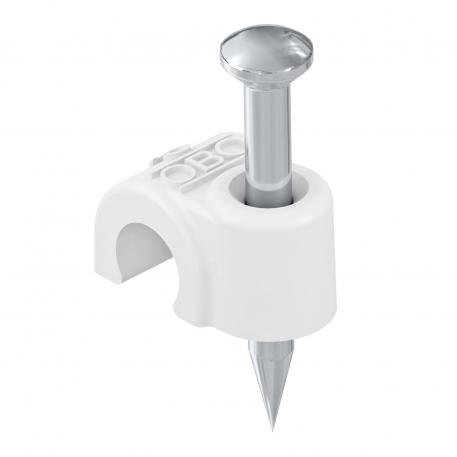 ISO nail clip 2009, pure white