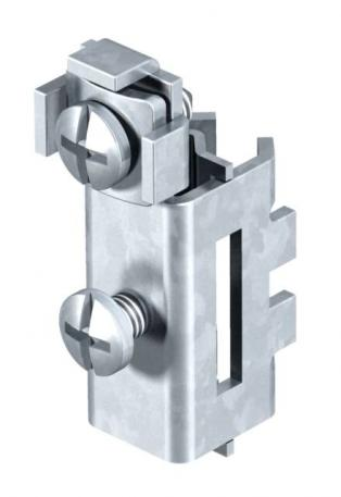 Clamp lock for earthing pipe clamp