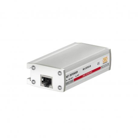 Surge protection for high-speed networks up to 1 GBit (Class EA/CAT6)