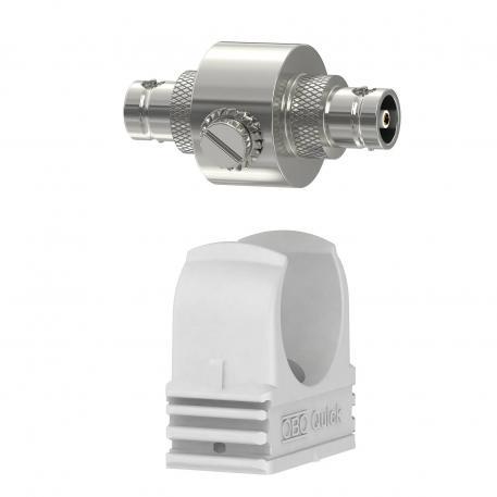 Koaxiales Schutzgerät für BNC-Anschluss: weiblich/weiblich