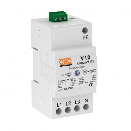 Surge arrester V10 Compact with remote signalling 255 V