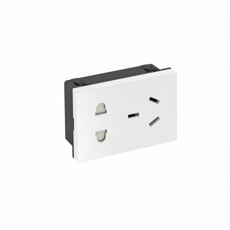 90° socket, China, combination CN-NEMA-EURO, single
