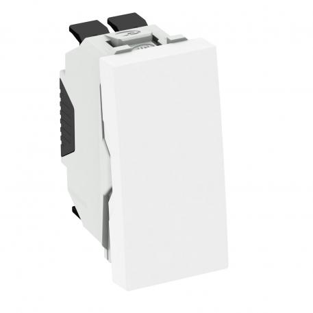One-way/changeover switch, 1/2 module