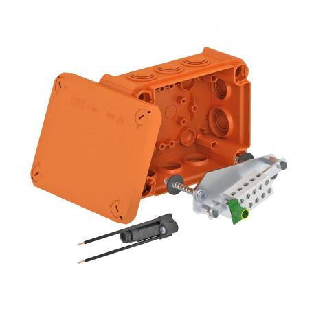FireBox T100ED with internal fastening and fuse holder