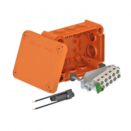 FireBox T160ED with internal fastening and fuse holder