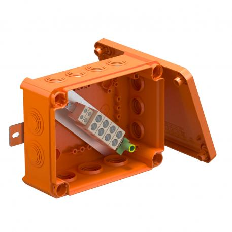 FireBox T160ED with external fastening and fuse holder