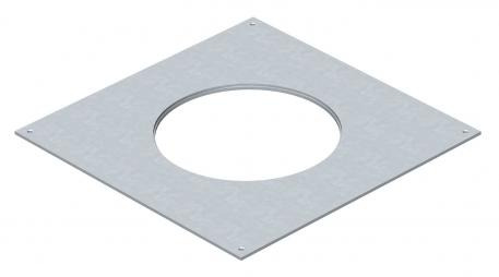 Mounting lid 250 for installation units of nominal size R4